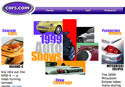 1999 Auto Shows: Detroit, Chicago and New York